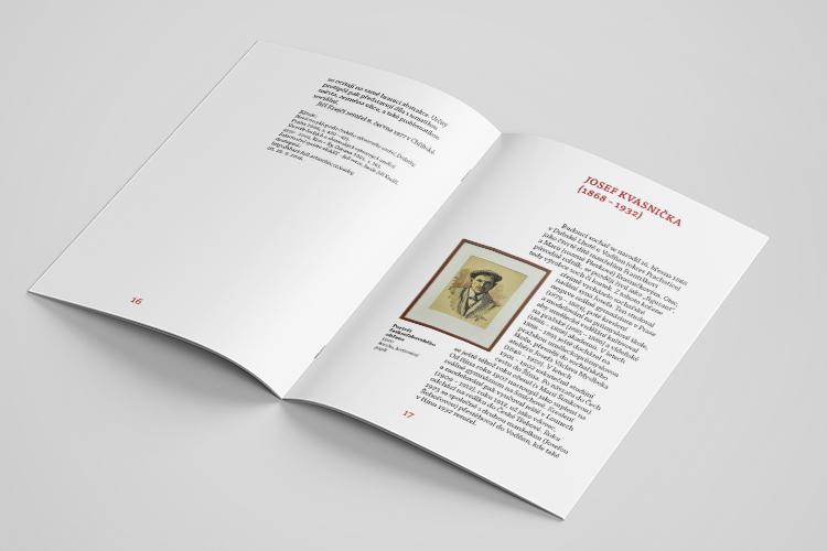 Grafický design katalogu - MrSHVEC - MMČT