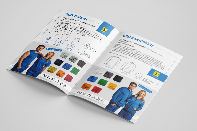Grafický návrh katalogu - MrSHVEC - Clevertex