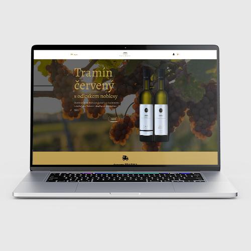 Tvorba eshopu - MrSHVEC - portfolio - vinař