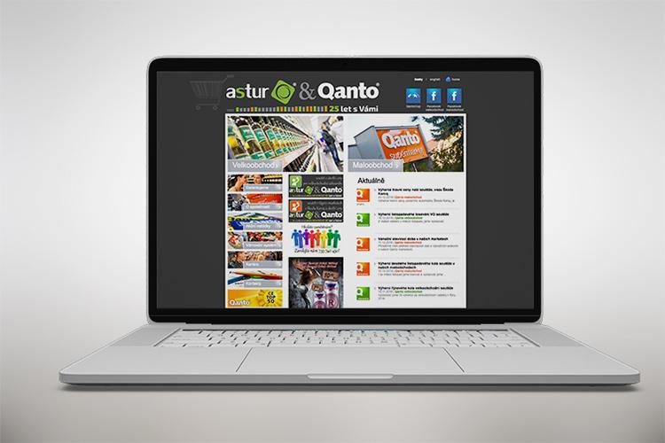 Tvorba loga - MrSHVEC - Astur &Qanto - web